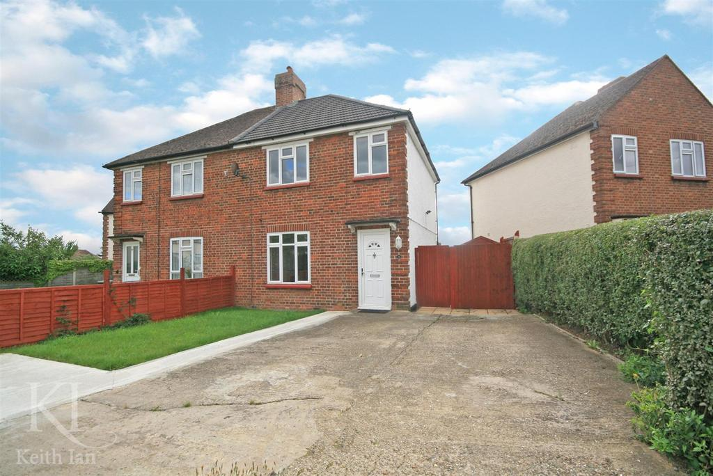 3 Bedrooms Semi Detached House for sale in Cundalls Road, Ware