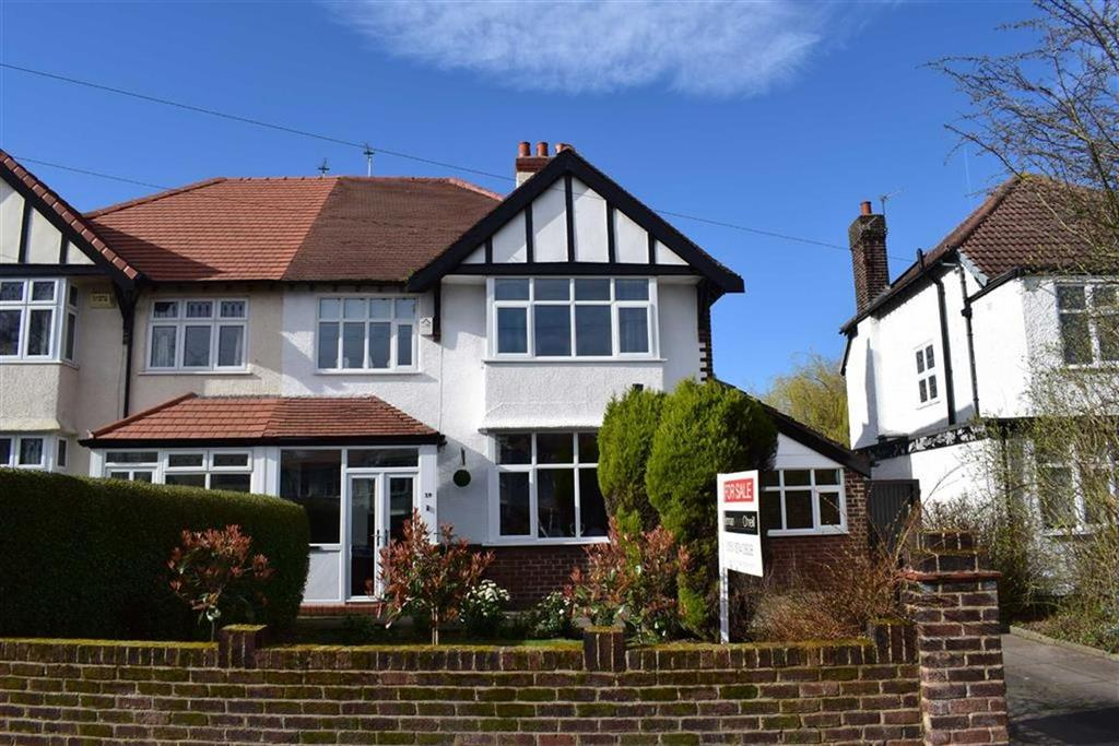 4 Bedrooms Semi Detached House for sale in West Drive, CH49