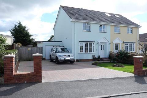 3 bedroom semi-detached house for sale - Tudor Drive, Sticklepath, Barnstaple