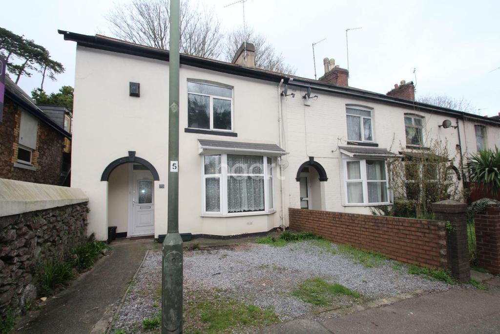 2 Bedrooms End Of Terrace House for sale in Hele Road, Torquay
