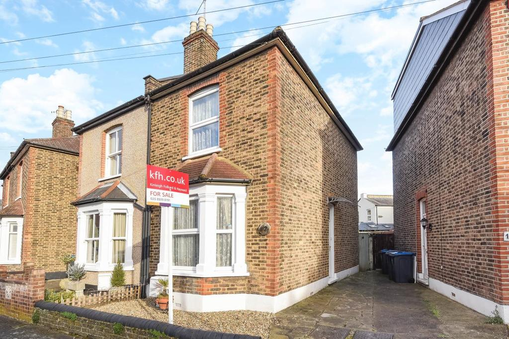 3 Bedrooms Semi Detached House for sale in Linden Crescent, Kingston upon Thames