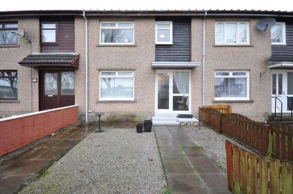 3 Bedrooms Terraced House for sale in 31 Macnaughton Walk, Kilmarnock, KA3 7NE