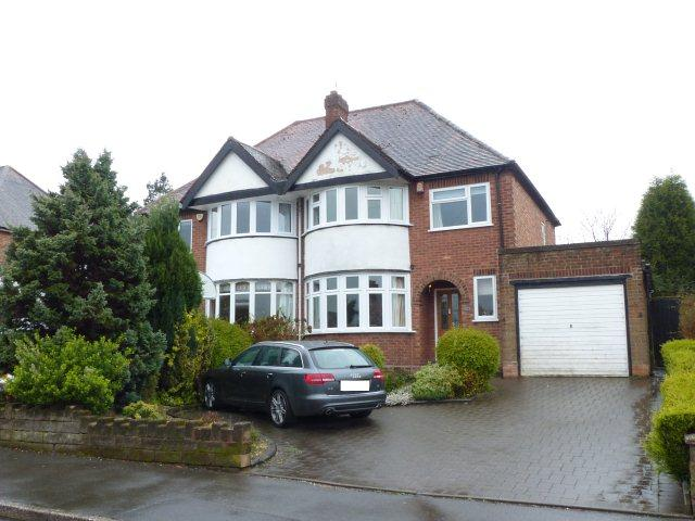 3 Bedrooms Semi Detached House for sale in Westwood Road,Sutton Coldfield,West Midlands