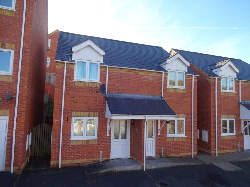 2 Bedrooms Semi Detached House for sale in Oaklands Park, Newtown, Powys
