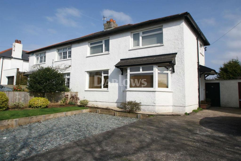 3 Bedrooms Semi Detached House for sale in Heol Hir, Llanishen, Cardiff