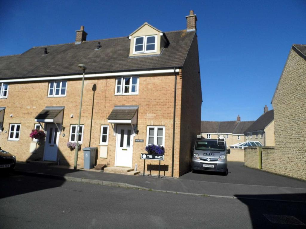 3 Bedrooms End Of Terrace House for sale in The Oaks, Shilton Park