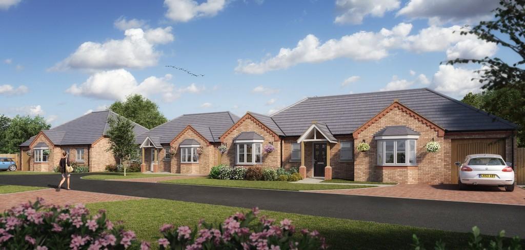 3 Bedrooms Detached Bungalow for sale in Lancaster Close, New Road, Hixon
