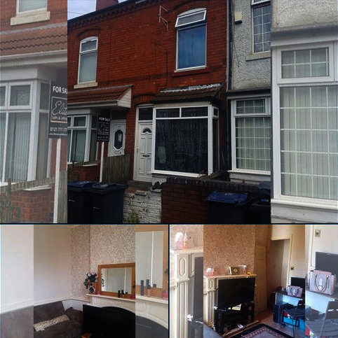 3 bedroom terraced house for sale - Fifth Avenue, Bordesley Green