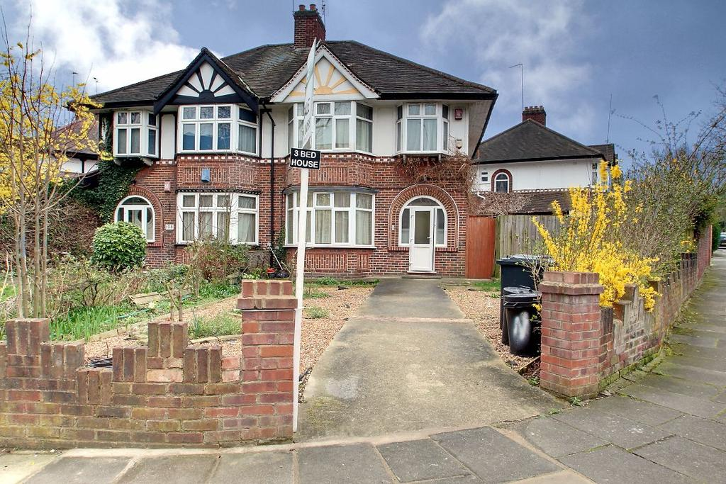 3 Bedrooms Semi Detached House for sale in Brunswick Gardens, Ealing, London, W5 1AP