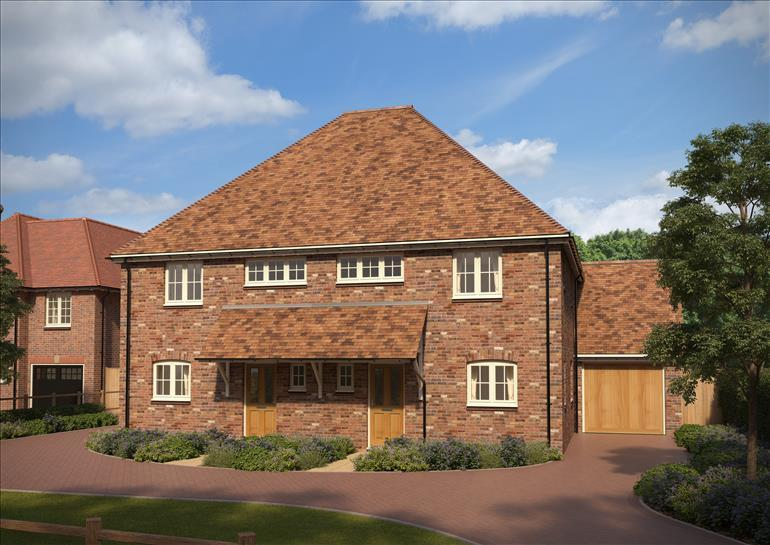 3 Bedrooms Semi Detached House for sale in Millwood Designer Homes, Chartway Street, Sutton Valence, Kent, ME17 3JA
