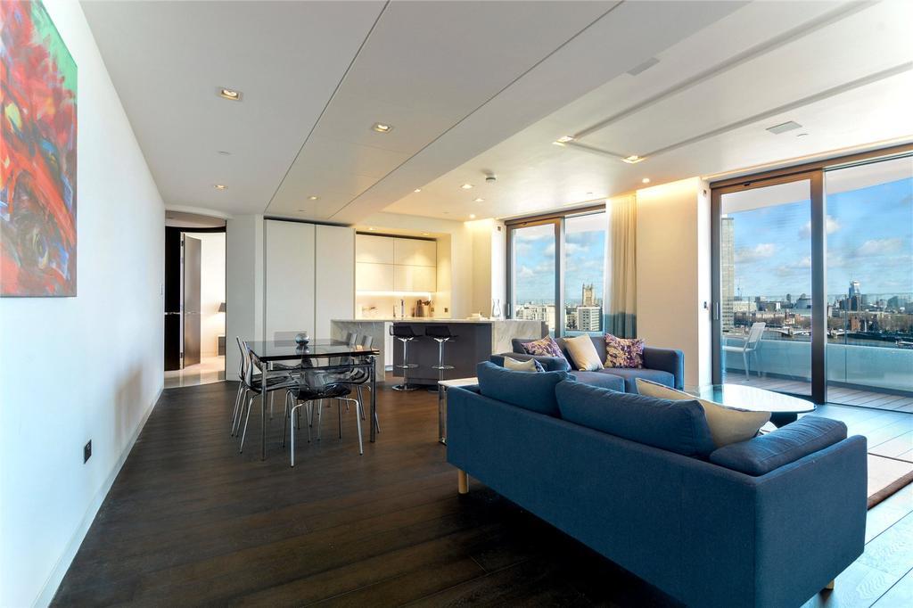 2 Bedrooms Flat for rent in Riverwalk, 161 Millbank, London, SW1P