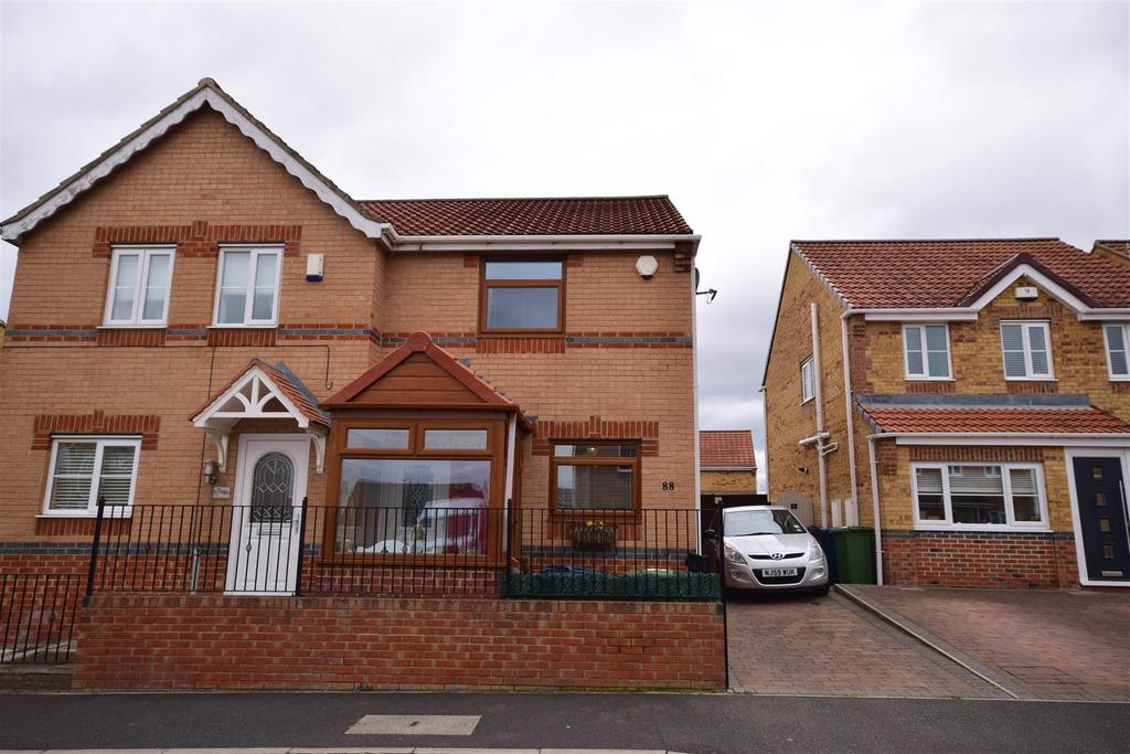 2 Bedrooms Semi Detached House for sale in Halesworth Drive, Sunderland