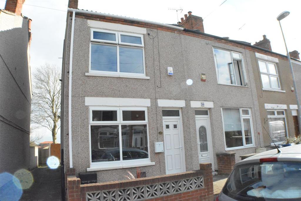 2 Bedrooms End Of Terrace House for sale in Mount Street, Mansfield