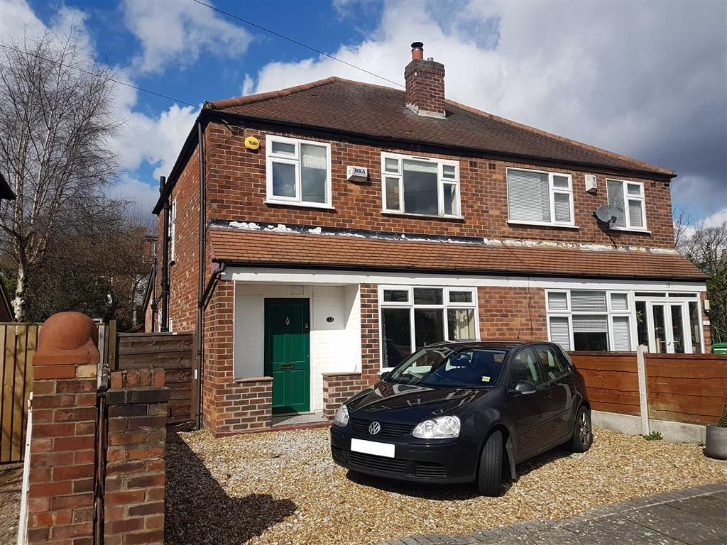 3 Bedrooms Semi Detached House for sale in Clovelly Road, Chorlton
