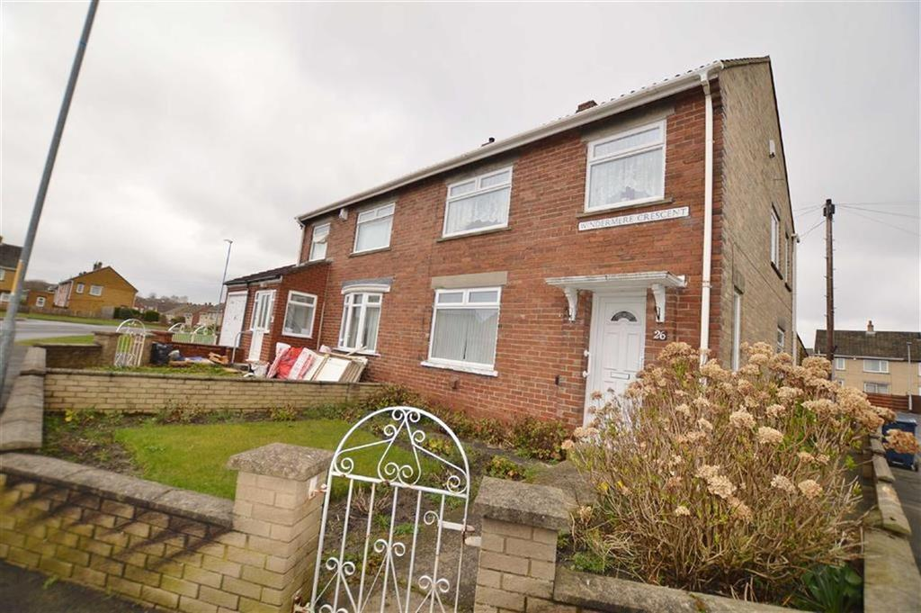 3 Bedrooms Semi Detached House for sale in Windermere Crescent, Winlaton