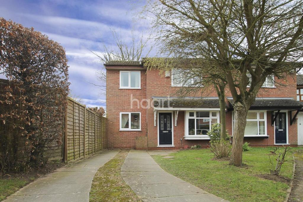 3 Bedrooms Semi Detached House for sale in Wysall Road, The Glades, Northampton