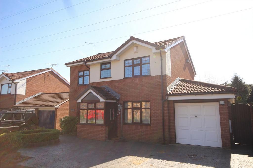 4 Bedrooms Detached House for sale in Meadowside, Ewloe, Flintshire