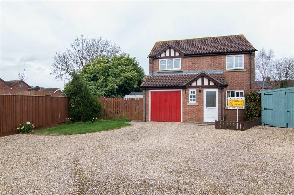 3 Bedrooms Detached House for sale in St Nicholas Close, Boston, Lincolnshire