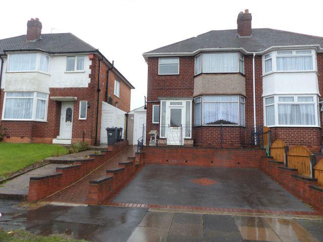 3 Bedrooms Semi Detached House for sale in Mildenhall Road,Great Barr,Birmingham