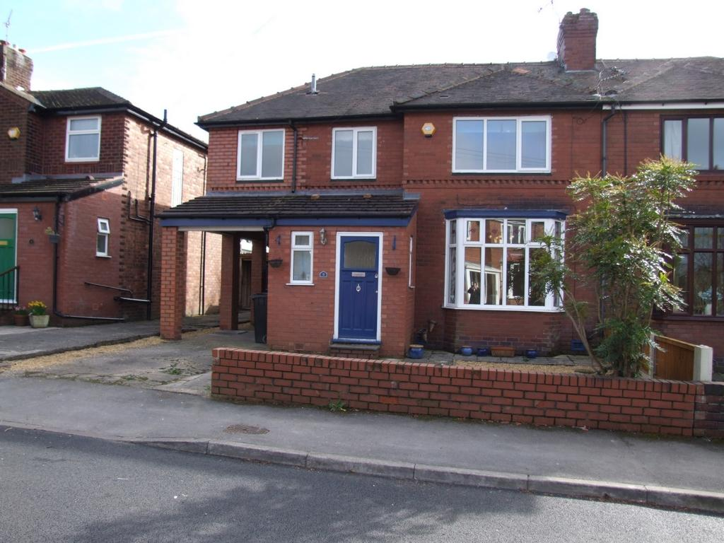 4 Bedrooms Semi Detached House for sale in The Quadrant, Romiley, SK6