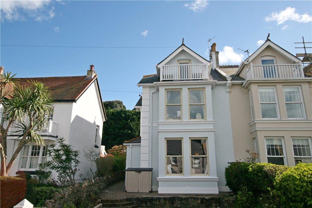 4 Bedrooms Semi Detached House for sale in 119 Berry Head Road, Brixham, Devon