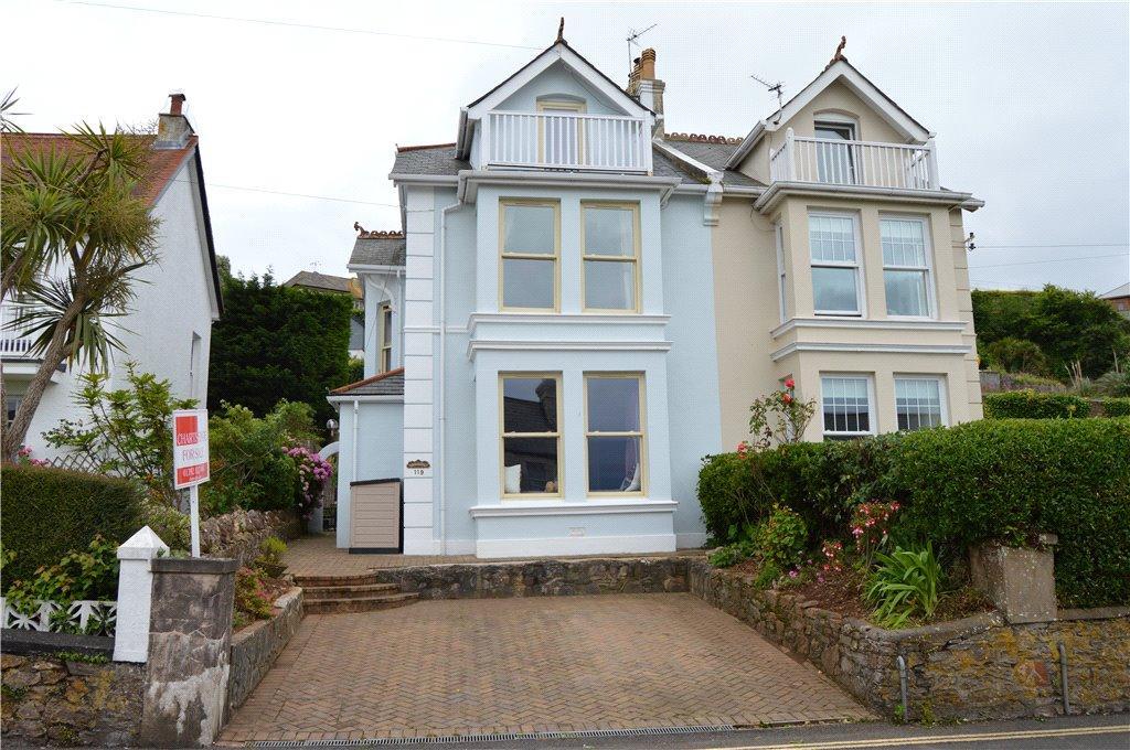 4 Bedrooms Semi Detached House for sale in 119 Berry Head Road, Brixham, Devon