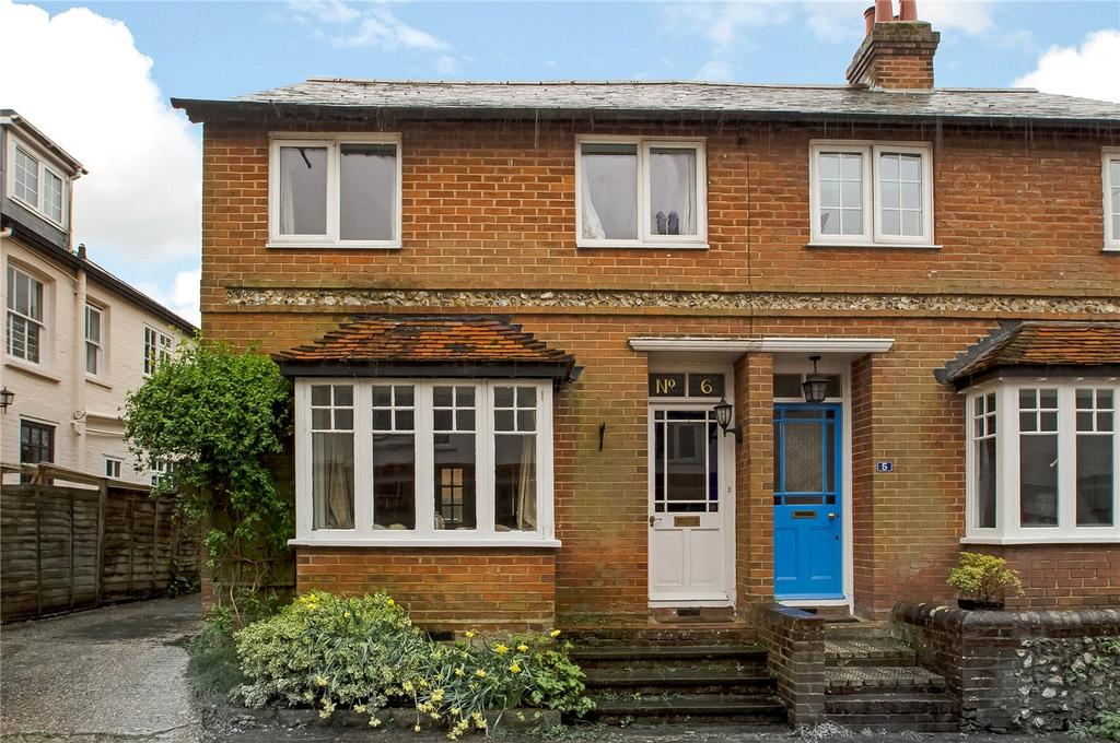 3 Bedrooms End Of Terrace House for sale in Hill Rise, Twyford, Winchester, SO21