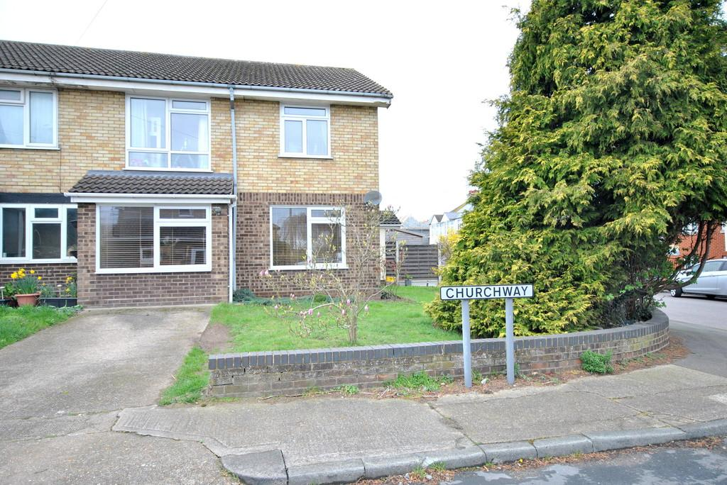 3 Bedrooms End Of Terrace House for sale in Church Way, Hadleigh