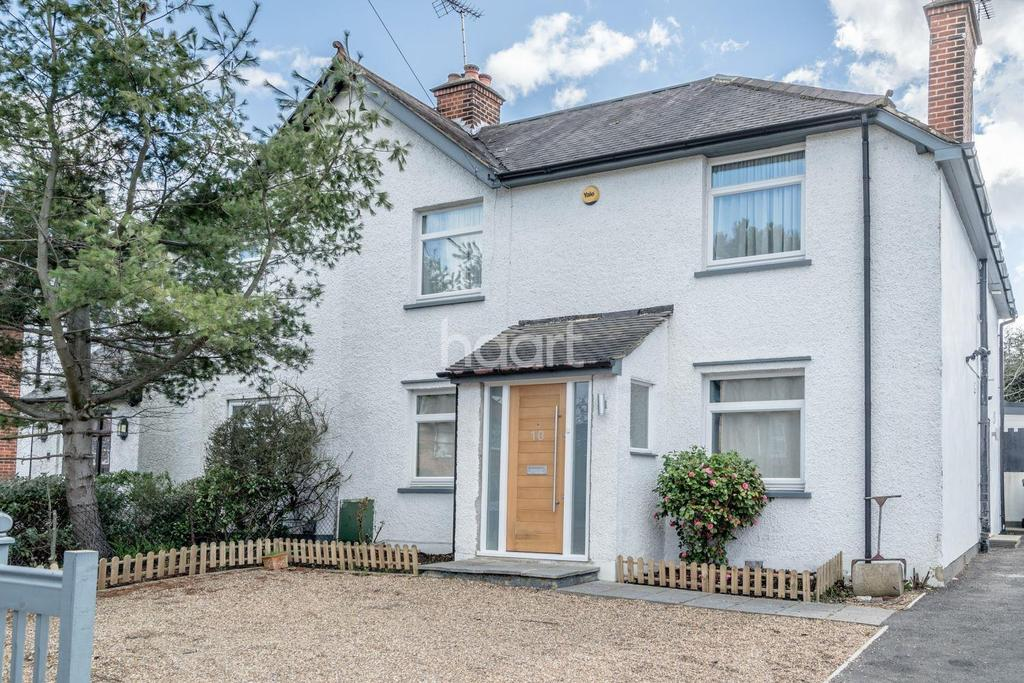 4 Bedrooms Semi Detached House for sale in Hillside Avenue, Borehamwood