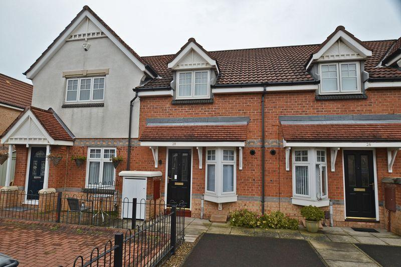 2 Bedrooms Terraced House for sale in Oakham Gardens, North Shields