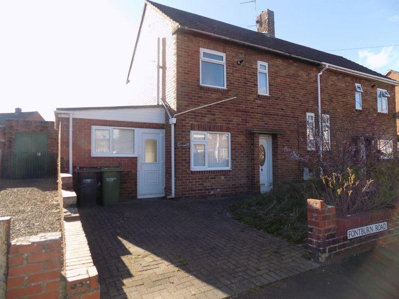 2 Bedrooms Semi Detached House for sale in Fontburn Road, Bedlington - Two Bed Semi Detached