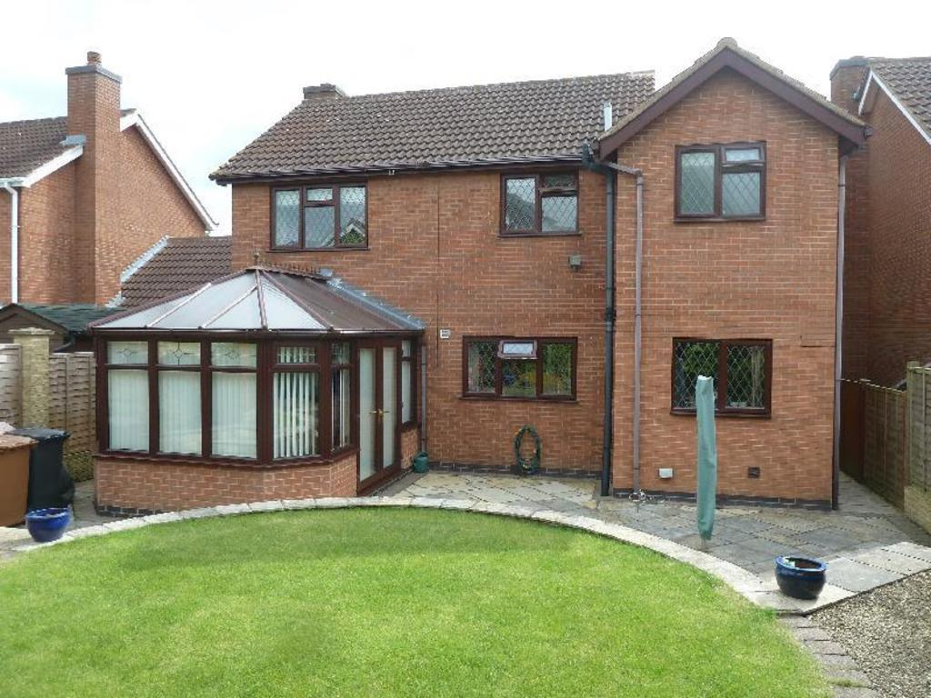 4 Bedrooms Detached House for sale in Winchester Drive Melton Mowbray