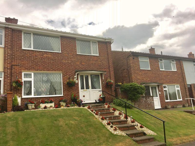 3 Bedrooms Semi Detached House for sale in Valley Road, Overseal