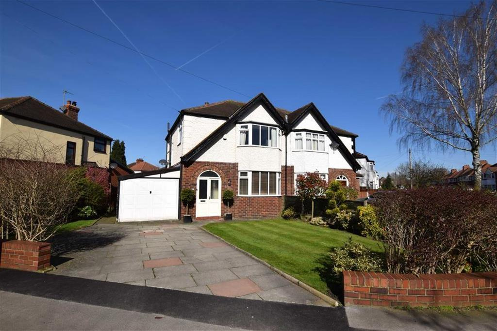 3 Bedrooms Semi Detached House for sale in Westvale Road, Timperley, Cheshire, WA15