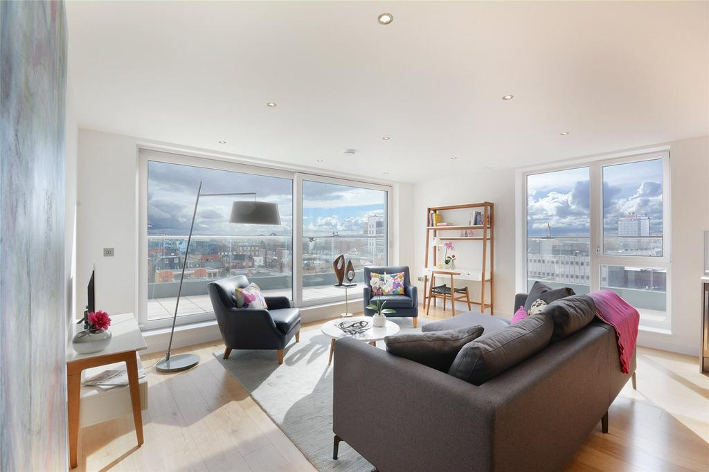 3 Bedrooms Penthouse Flat for sale in Glenbrook Apartments, 85 Glenthorne Road, Hammersmith, London, W6