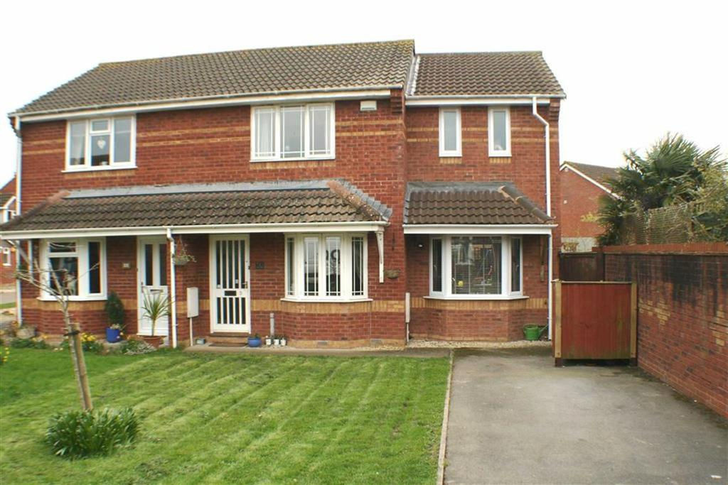 3 Bedrooms Semi Detached House for sale in Beale Way, Burnham On Sea