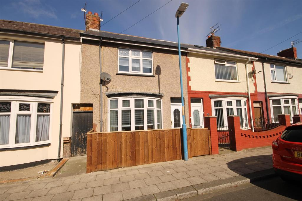 3 Bedrooms Terraced House for sale in Wharton Terrace, Hartlepool