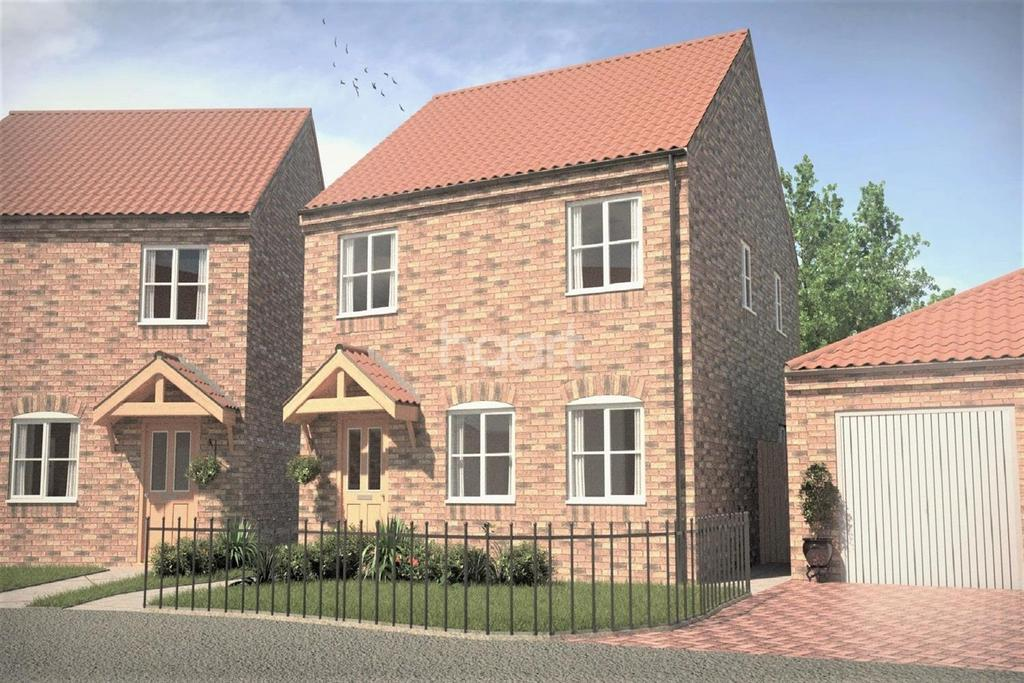 4 Bedrooms Detached House for sale in Plot 3 Daleside Place, Colwick.
