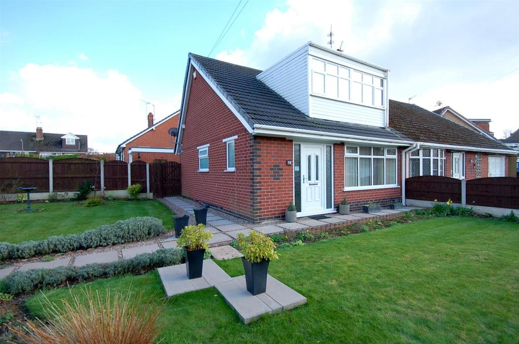3 Bedrooms Semi Detached House for sale in Brown Avenue, Church Lawton