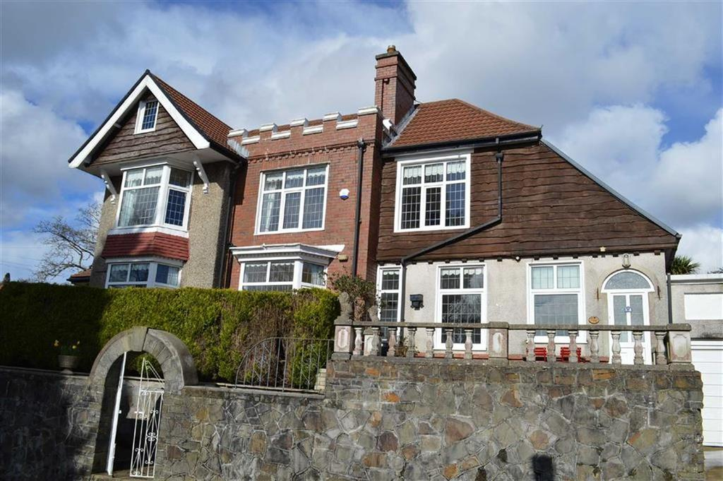4 Bedrooms Detached House for sale in Glanmor Park Road, Swansea, SA2