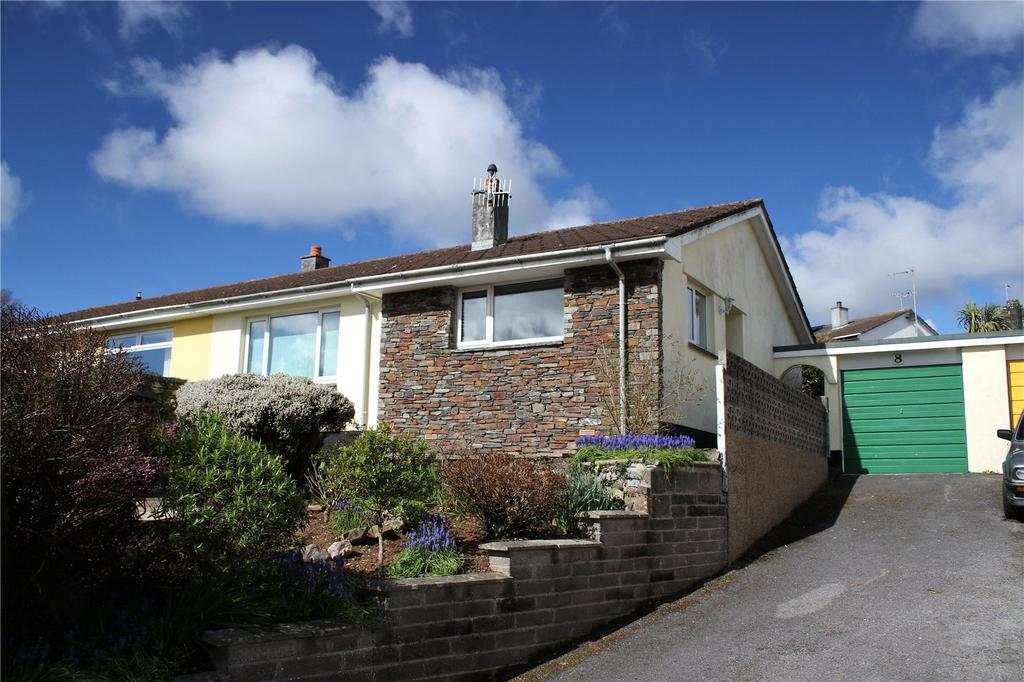 2 Bedrooms Semi Detached Bungalow for sale in Glebeland, Churchstow, Kingsbridge, Devon, TQ7