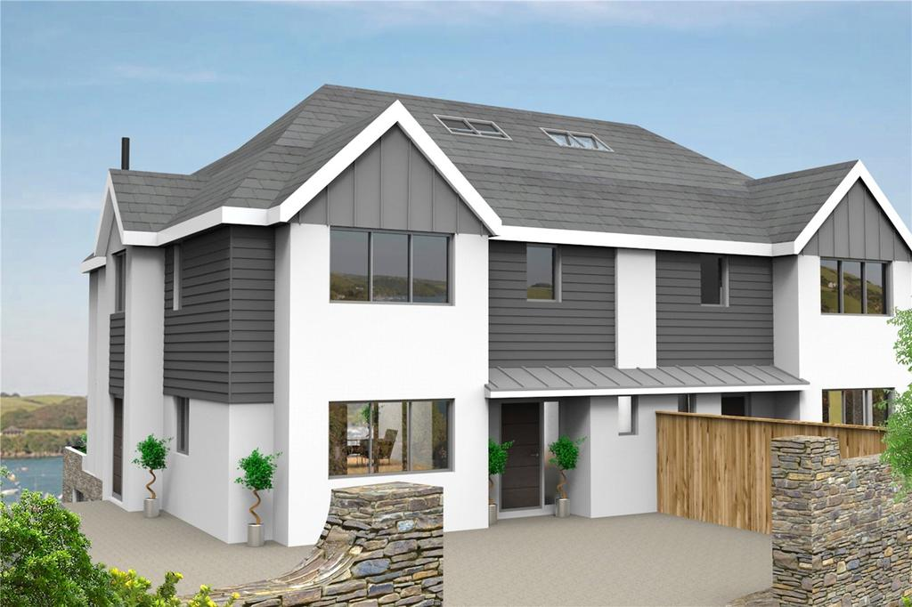 5 Bedrooms Semi Detached House for sale in Bonaventure Road, Salcombe, TQ8