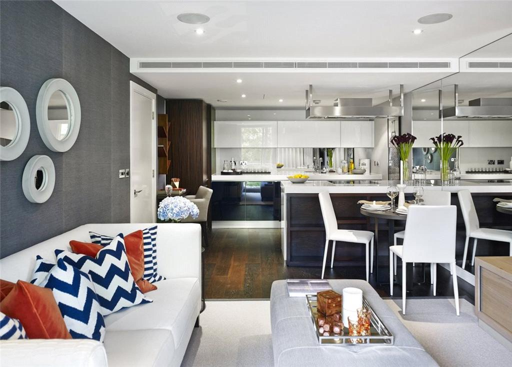 2 Bedrooms Flat for sale in Moore House, Grosvenor Waterside, 2 Gatliff Road, London, SW1W