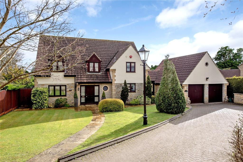 4 Bedrooms Detached House for sale in Brickwall Lane, Curry Rivel, Langport, Somerset