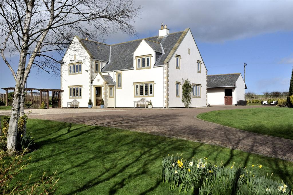 5 Bedrooms Equestrian Facility Character Property for sale in Ancroftlaw, Ancroft, Berwick-upon-Tweed, Northumberland