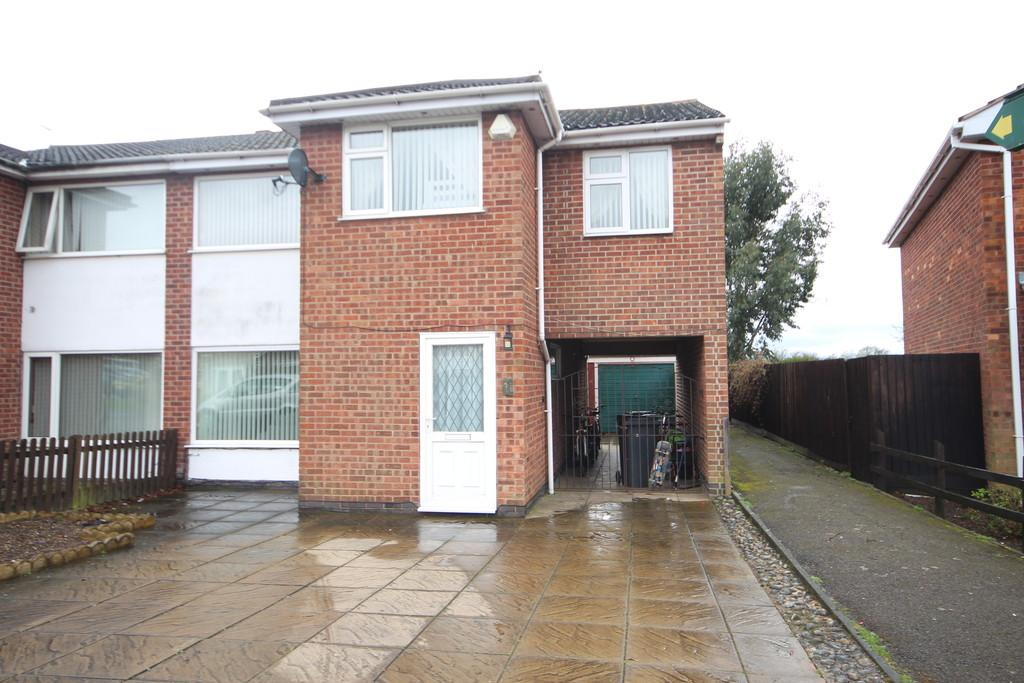 5 Bedrooms Semi Detached House for sale in Redbrook Crescent, Melton Mowbray
