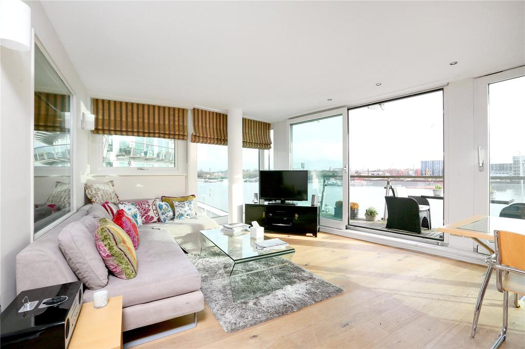 2 Bedrooms Flat for sale in Cinnabar Wharf West, 22 Wapping High Street, London, E1W