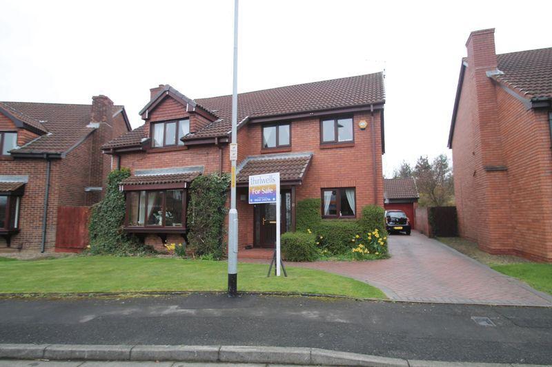 4 Bedrooms Detached House for sale in Eden Way, Billingham