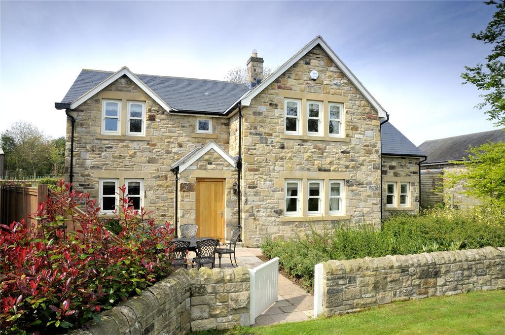 5 Bedrooms Detached House for sale in Church View, Rennington, Alnwick, Northumberland, NE66