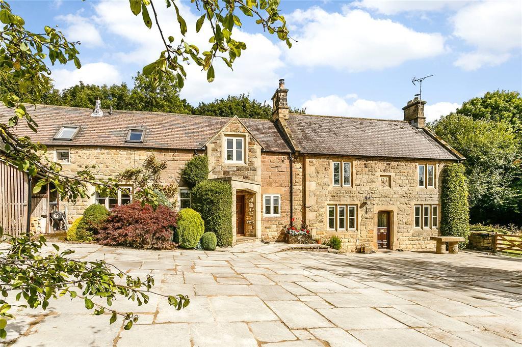4 Bedrooms Detached House for sale in Quarry Lane, Woolley Moor, Derbyshire, DE55